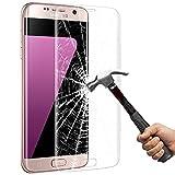 Samsung Galaxy S7 Edge Schutzfolie, Vitutech Galaxy S7 3D Full Coverage Edge Glass Panzerglas Gehärteter Displayschutzfolie Anti-Kratz Displayschutzfolie Schutzfolie Screen Protector Für Samsung Galaxy S7 Edge - Transparent