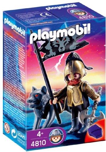 Playmobil - 4810 - Figurine - Chevalier des Loups avec Hache