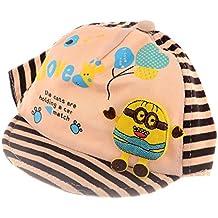 SHOP FRENZY Round Multi- Colour Designer | Trendy |Stylish Cartoon Printed Cotton SOFR CAPS for Kids/Baby/BOY/Girls