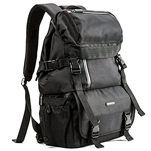 Evecase Classic DSLR/SLR Camera / Lens Kit Travel Rugged Backpack