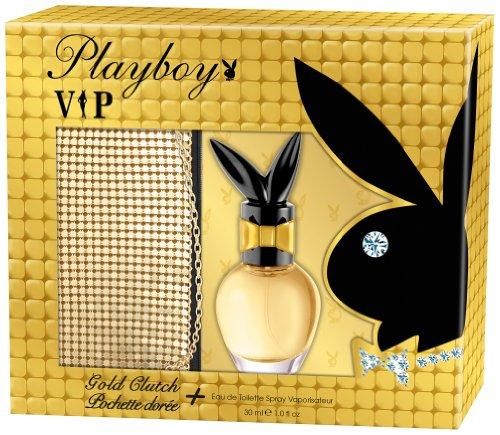 Playboy VIP EdT 30ml und Golden Satchel Bag, 1er Pack (1 x 25 g)