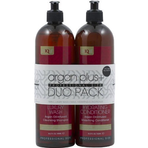 Argan Plus + Luxury Wash Shampoo 789ml and Hydrating Conditioner 765ml Duo Pack