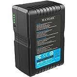MAXOAK 177 (12000mAh/14.8V) batterie V-mount chargeur V-monture batterie V-Lock batterie externe pour Caméra Vidéo de SONY caméscope Sony / Sony Camcorder et les autres appareils