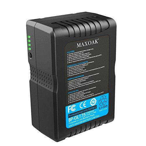 MAXOAK 12000 mAh V Monte V-Mount batteria di backup usato  Spedito ovunque in Italia