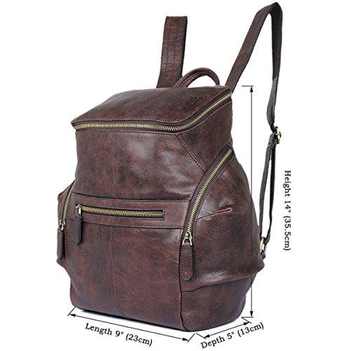 Frauen Vintage Tote Schultertasche Weichem Leder Große Umhängetasche Für Frauen Urlaub Shopper Einkaufstasche Büro Aktentasche Brown