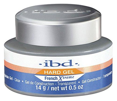 IBD Nail Treatments - French Xtreme Gel - Clear, 0.5 Ounce, 1er Pack (1 x 15 ml) -