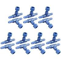 Sourcingmap® Acuario de plástico Azul de Aire Interruptor de la Bomba de Agua de la