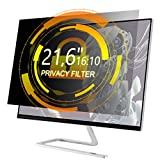 Xianan 21,6 Zoll 16:10 Breitbild Displayfilter Bildschirmfilter 18,32x11,45zoll/465,3x290,8mm Displayschutz Blickschutzfolie Sichtschutzfolie Privacy Filter
