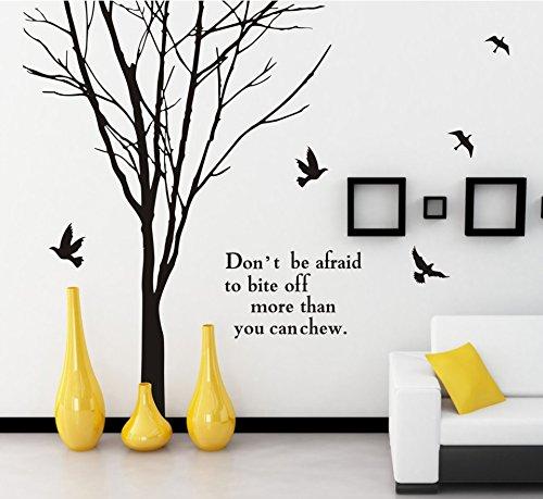 BBH.LEE Zweige der Wohnzimmer Sofa dekorative Aufkleber_Hintergrund