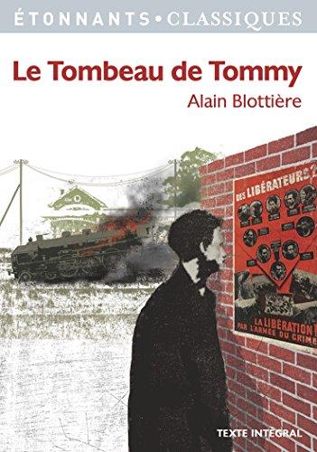 Le Tombeau de Tommy par Alain Blottière