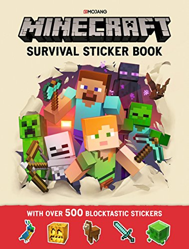 Minecraft Survival Sticker Book: An Official Minecraft Book From Mojang por Mojang AB