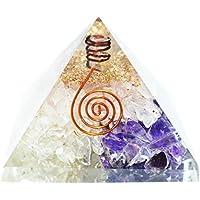 Humunize Rosenquarz, Kristall und Amethyst Stein mit Bleistift Orgon Pyramide Chakra-Energie-Generator Reiki Stein... preisvergleich bei billige-tabletten.eu
