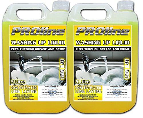 Proline Lemon Blast Washing Up Liquid, 2 X 5 Litres