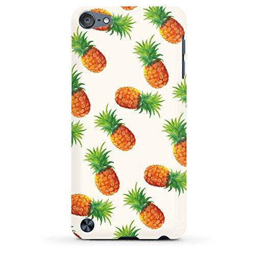 DeinDesign Apple iPod Touch 5. Generation Case Hülle Schutzhülle Cover PremiumCase matt White - Pineapple Party