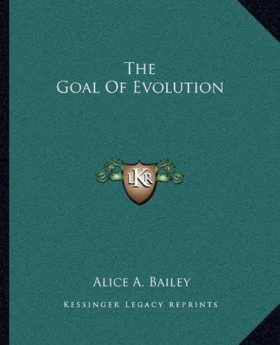The Goal of Evolution