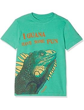 Fat Face Iguana Graphic, Camiseta para Niños