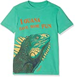 Fat Face Iguana Graphic T-Shirt, Verde (Bright Grn), 12-13 Anni Bambino