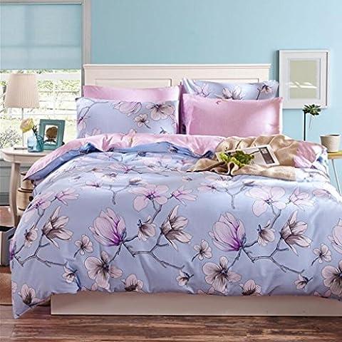 HBY de algodón ropa de cama de algodón de la familia de cuatro miembros minimalista kit 1.8m bed