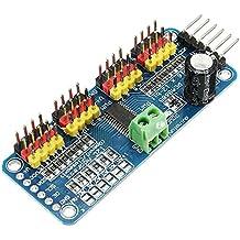 Bluelover PCA9685 16-Kanal 12-Bit PWM-Servomotortreiber-I2C-Modul für Arduino-Roboter