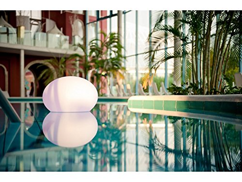 Smart&Green LED Außenlampe FLATBALL Bulb IC Außenlampe 35x27cm