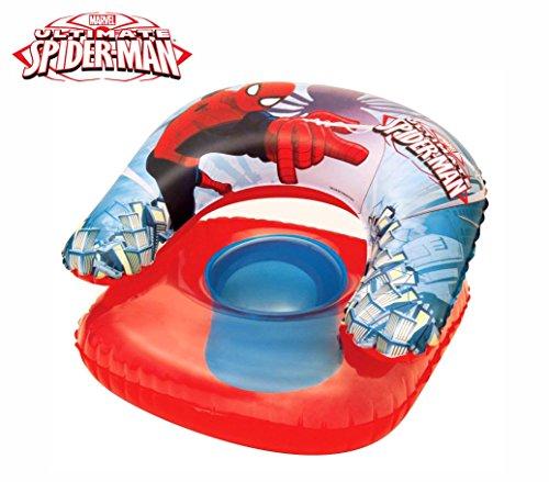 98008 Poltroncina gonfiabile per bambini Spiderman giochi acquatici Bestway. MEDIA WAVE store