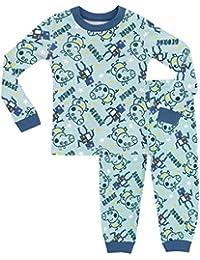 Peppa Pig George The Pig Boys George Pig Pyjamas - Snuggle Fit - Ages 18 Months to 8 Years