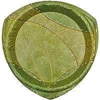 ORION S, piatto, stoviglie monouso in fogliame foglie, 15pezzi, 18cm