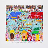 James Rizzi Striving For That Perfect Ten 2D Poster Kunstdruck Farblithographie - Kostenloser Versand