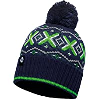 Original Buff - Knitted & Polar Hat Solid Unisex Adulto, talla unica, color Aspen Medieval Blue/Navy