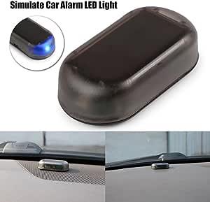 Tioodre Solar Auto Alarm Led Licht Sicherheitssystem Warnung Diebstahl Blinklicht Auto