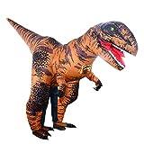 P Prettyia Disfraz de Dinosaurio Caja, Ventilador de Poliéster de Haloween Suministro de Envoltorio Reserva de Fiesta