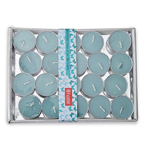 @home Scented Round Wax Tea Light (3.5 cm x 3.5 cm x...