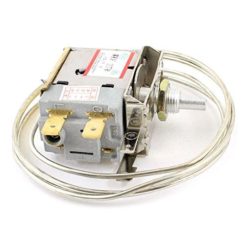 WOVELOT WOVELOT (R) AC 250V 6A 2-Pin Terminals Gefrierfach Kuehlschrank Thermostat