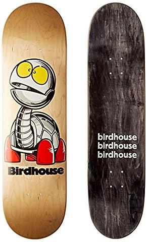 Vogelhaus Skateboards Schildkröte Team Deck, 21cm