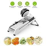 GBlife Affettatrice di Verdure Frusta da Cucina Professionale Mandolin Manuale di Frutta da Casa Cucina Picnic Set di coltelli Taglierina per Taglia Patate fritte (C-1)