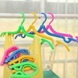Imported and New Folding Hanger Cloth Racks Portable Travel