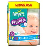 ActiveFit talla 5 ( 11-25 kg ) Jumbo Pack de 62 pañales PAMPERS