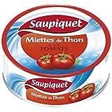 Saupiquet miettes de thon à la tomate 1/5 160g - ( Prix Unitaire ) - Envoi Rapide Et Soignée