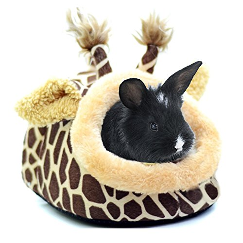 Pet Kaninchen Meerschweinchen Hamster Nest Funny House Kleine Tiere House Hängematte Winter Warm Fleece Guinea Pig Igel Chinchilla Weiches Bett Haus niedliche Käfig Nest (Krokodil) (Pet Käfig Pig Guinea)