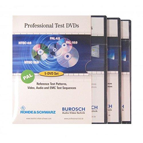 BUROSCH Professional Test DVDs - 5 DVDs Set -