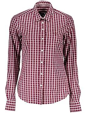 Gant 1403.431814 Camisa con Las Mangas largas Mujer Rojo 605 40