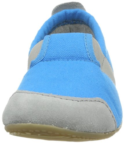 Living Kitzbühel T-Modell Uni, Chaussons Bas Mixte Enfant Bleu (530 Türkis)