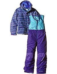 Columbia para Traje de Juego Buga, otoño/Invierno, Infantil, Color Morado - Hyper Purple Stripe, tamaño 6/12