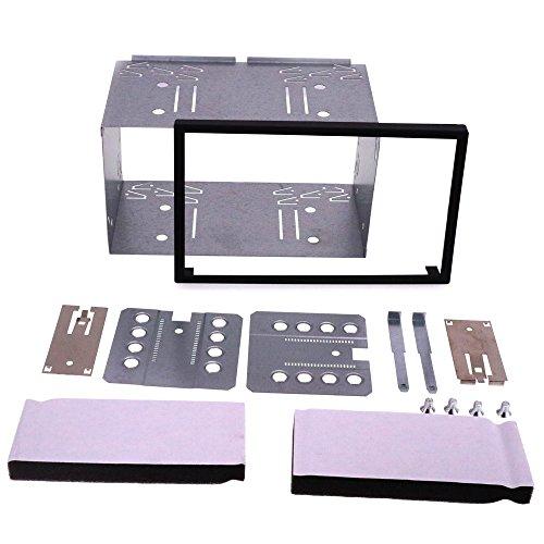 autostereo 14–003Audio Estéreo para Coche Universal doble DIN Head Unit Cage de Kit 180x 103mm