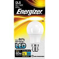 GLS LED Lampadina / 806lm Opale 9.2W=60W / Bianco Caldo 2700k / Energizer B22