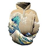 3D hombres mujeres Sudaderas con Capucha olas del mar 3D Impresión fina  Jerseys Casual Tracksuits 6ddbdf73a79