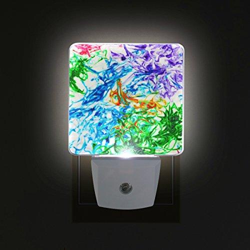 COOSUN Krawatten-Stecker in LED-Nachtlicht Selbst-Sensor Smart-Dämmerung bis Dämmerung dekorativer Nacht für Schlafzimmer, Badezimmer, Küche, Flur, Treppen, Flur, Baby Zimmer, Energiesparen (UK-Stec