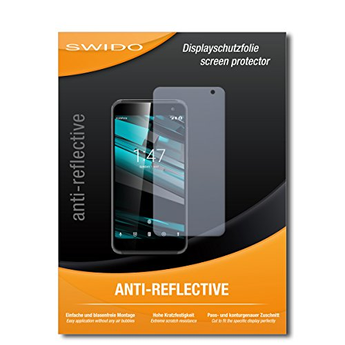 SWIDO Bildschirmschutz für Vodafone Smart Platinum 7 [4 Stück] Anti-Reflex MATT Entspiegelnd, Hoher Härtegrad, Schutz vor Kratzer/Glasfolie, Schutzfolie, Bildschirmschutzfolie, Panzerglas Folie