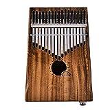 Ben-gi 17 Chiavi Kalimba Piano Strumento Musicale a Tastiera elettrica Piano di Legno Kit Tuner Martello Bagagli Bag Speaker Cable