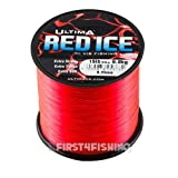 Best Bass Fishing Lines - Ultima Red Ice Mainline 4oz Spools - Cod Review